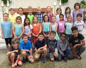 First Communion Class 2016